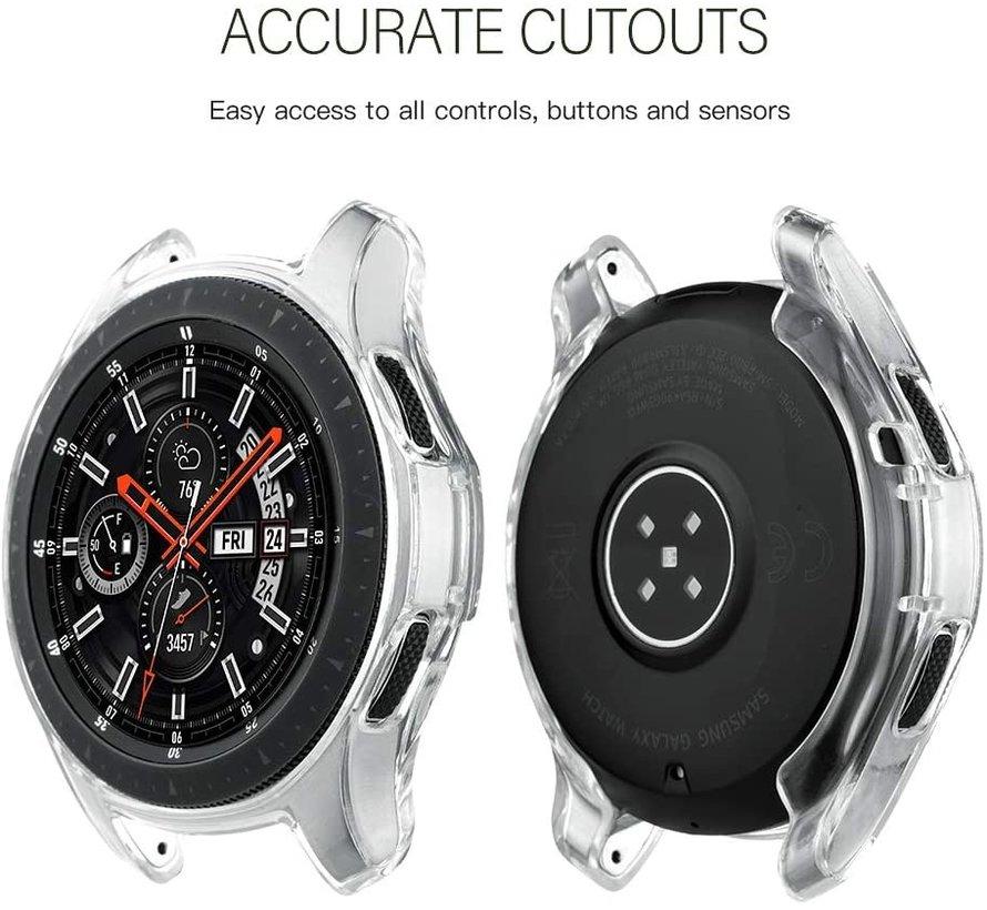 Strap-it® Samsung Galaxy Watch silicone case 46mm (transparant)