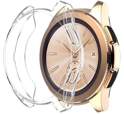 Strap-it® Strap-it® Samsung Galaxy Watch silicone case 42mm (transparant)