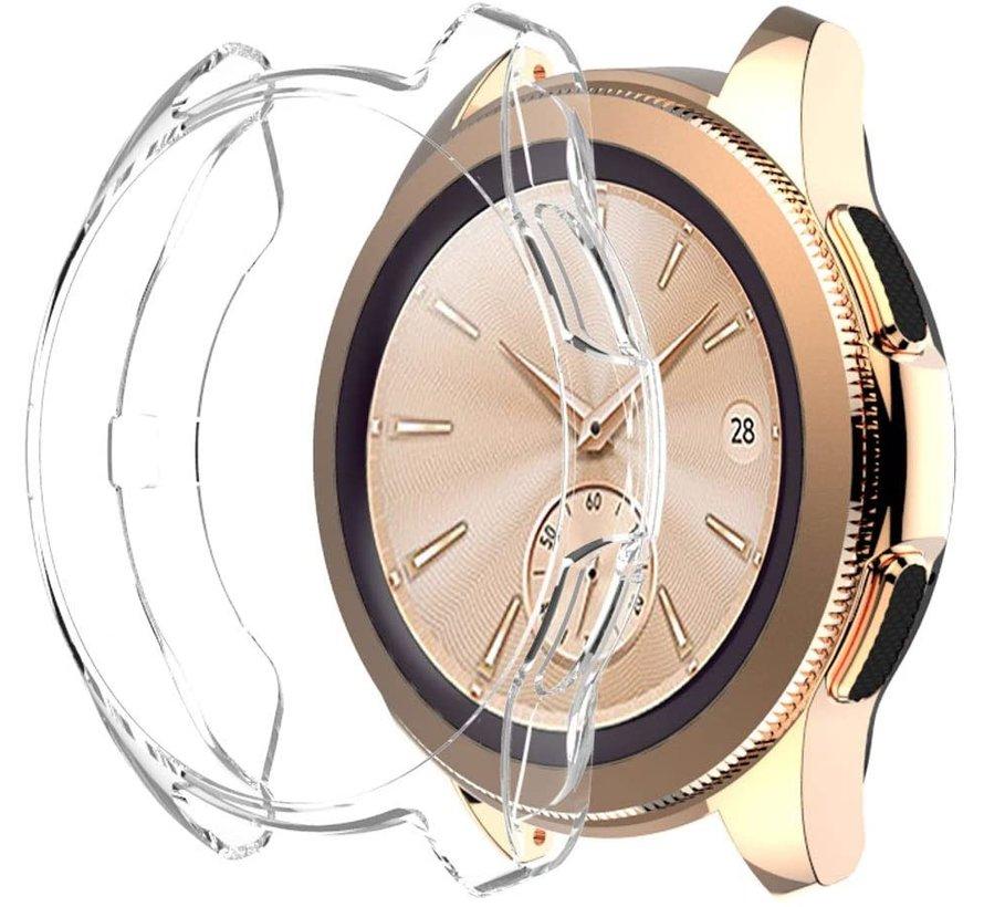 Strap-it® Samsung Galaxy Watch silicone case 42mm (transparant)