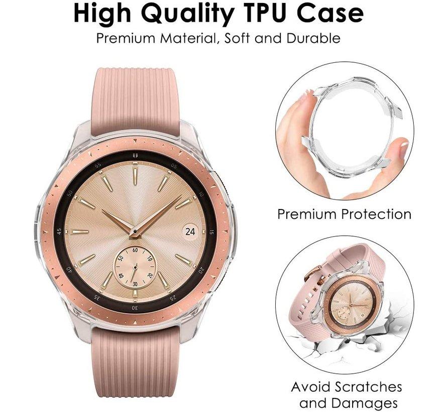 Samsung Galaxy Watch silicone case 42mm (transparant)