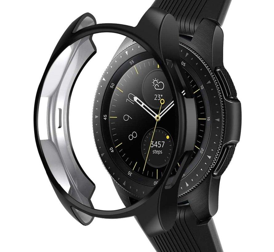 Strap-it® Samsung Galaxy Watch silicone case 42mm (zwart)