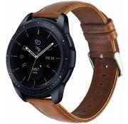 Samsung Galaxy Watch leren band 42mm (bruin)