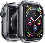 Strap-it® Apple Watch silicone case (transparant)