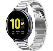 Samsung Galaxy Watch Active stalen band (zilver)
