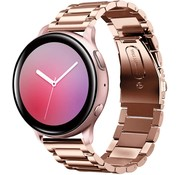 Samsung Galaxy Watch Active stalen band (rosé goud)