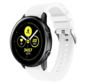 Strap-it® Samsung Galaxy Watch Active silicone band (wit)