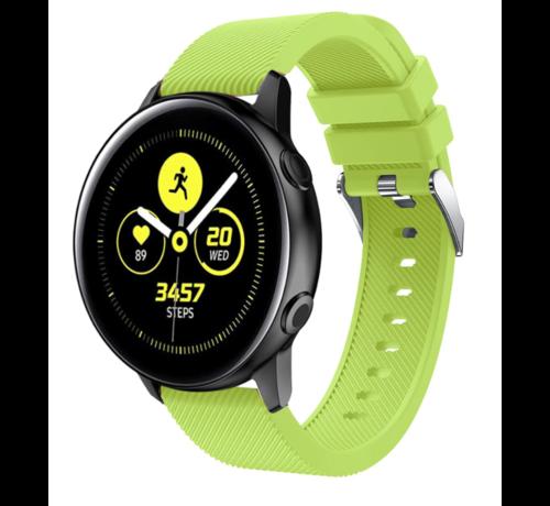 Strap-it® Strap-it® Samsung Galaxy Watch Active silicone band (lichtgroen)