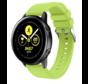 Strap-it® Samsung Galaxy Watch Active silicone band (lichtgroen)