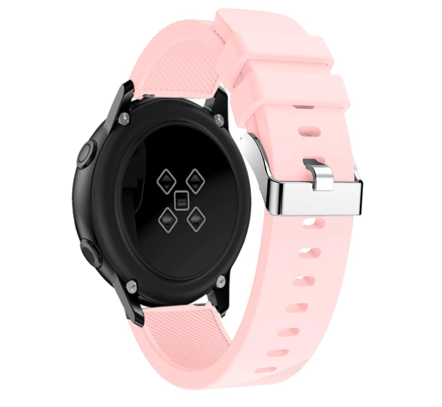 Strap-it® Samsung Galaxy Watch Active silicone band (roze)