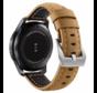 Strap-it® Samsung Galaxy Watch kalfsleren band 41mm / 42mm (beige)