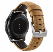 Samsung Galaxy Watch kalfsleren band 46mm (beige)