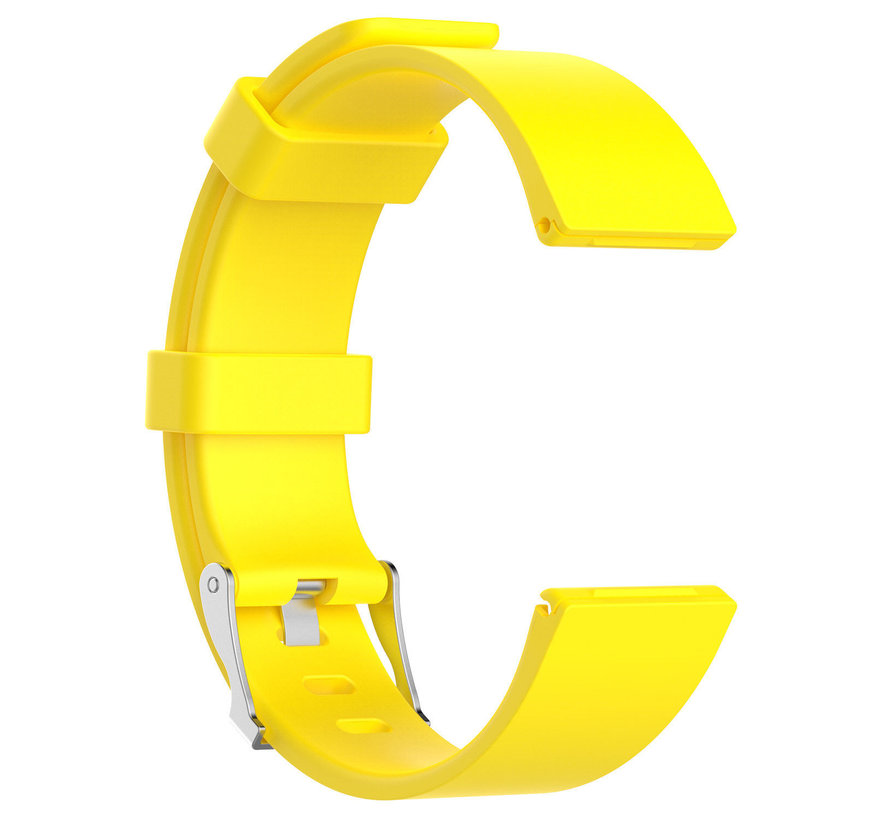 Strap-it® Fitbit Versa silicone band (geel)