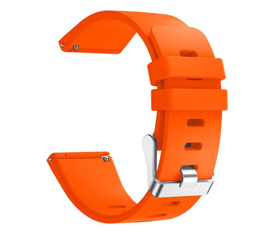Strap-it® Fitbit Versa silicone band (oranje)
