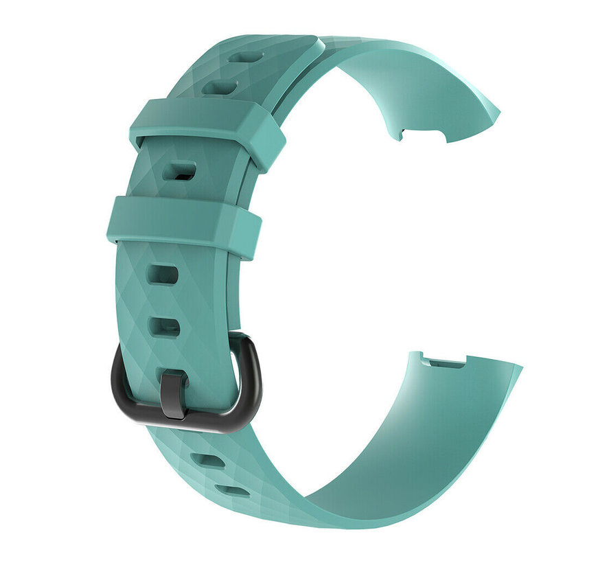 Fitbit Charge 4 silicone band (aqua)