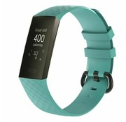 Strap-it® Fitbit Charge 4 silicone band (aqua)