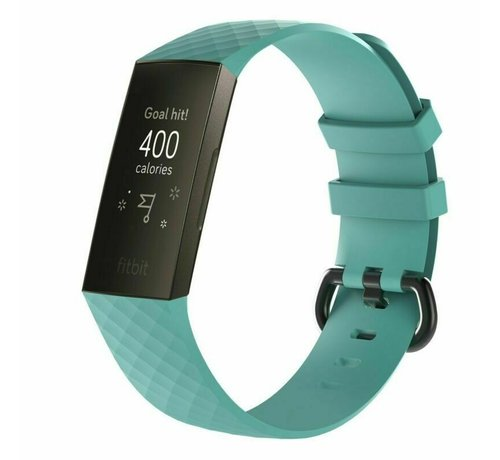 Strap-it® Strap-it® Fitbit Charge 4 silicone band (aqua)