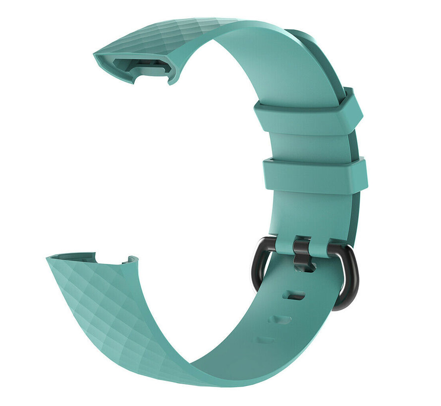 Strap-it® Fitbit Charge 3 silicone band (aqua)