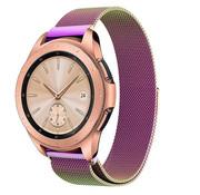 Samsung Galaxy Watch Milanese band 41mm / 42mm (regenboog)