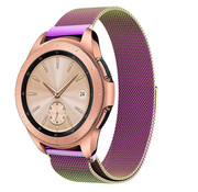 Strap-it® Samsung Galaxy Watch Milanese band 41mm / 42mm (regenboog)