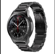 Samsung Galaxy Watch stalen band 45mm / 46mm (zwart)