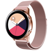 Samsung Galaxy Watch Active Milanese band (roze)