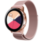 Strap-it® Samsung Galaxy Watch Active Milanese band (roze)