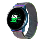 Samsung Galaxy Watch Active Milanese band (regenboog)