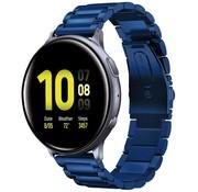Samsung Galaxy Watch Active stalen band (blauw)