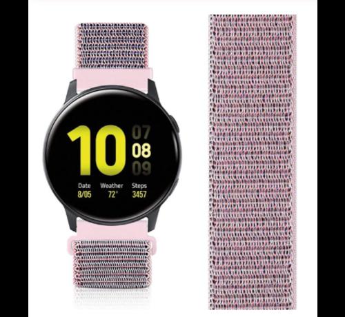 Strap-it® Strap-it® Samsung Galaxy Watch Active nylon band (pink sand)