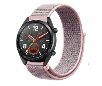 Strap-it® Strap-it® Huawei Watch GT nylon band (pink sand)