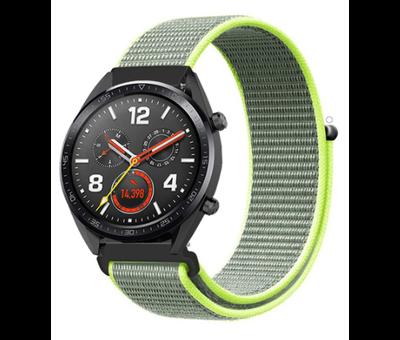 Strap-it® Strap-it® Huawei Watch GT nylon band (fluoriserend)