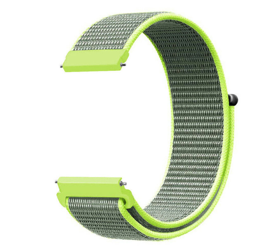 Strap-it® Huawei Watch GT nylon band (fluoriserend)