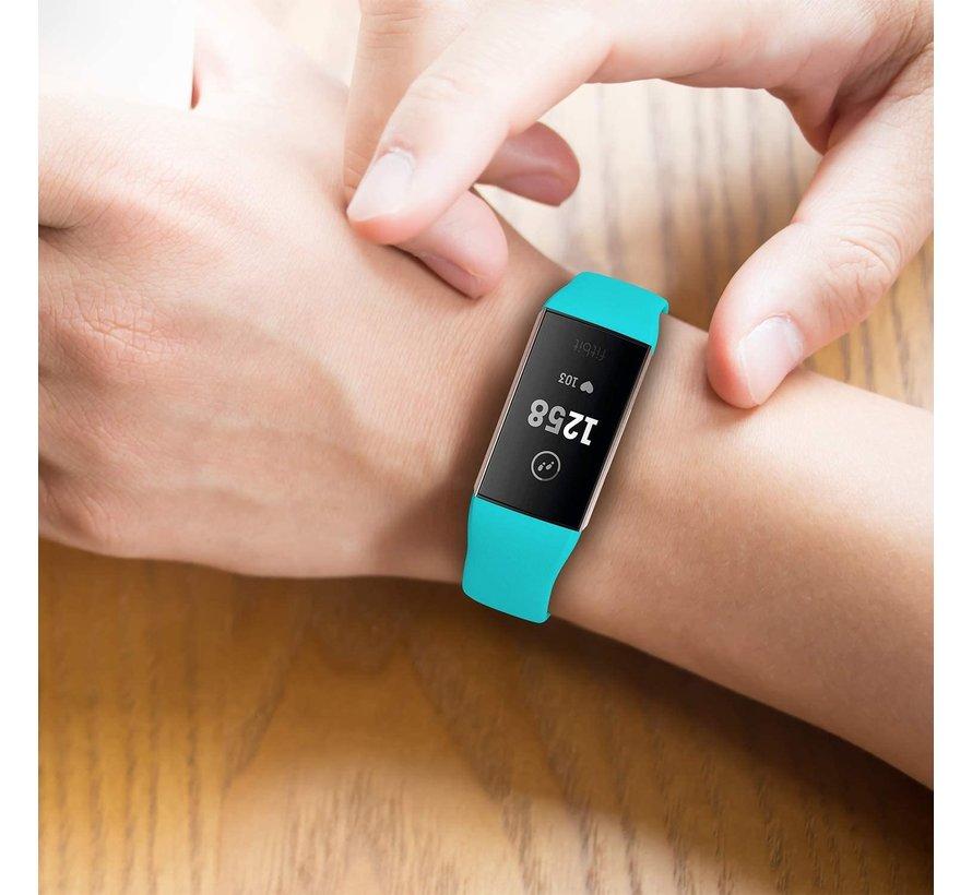 Strap-it® Fitbit Charge 4 sportband (aqua)
