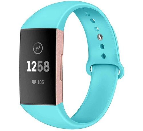 Strap-it® Strap-it® Fitbit Charge 4 sportband (aqua)