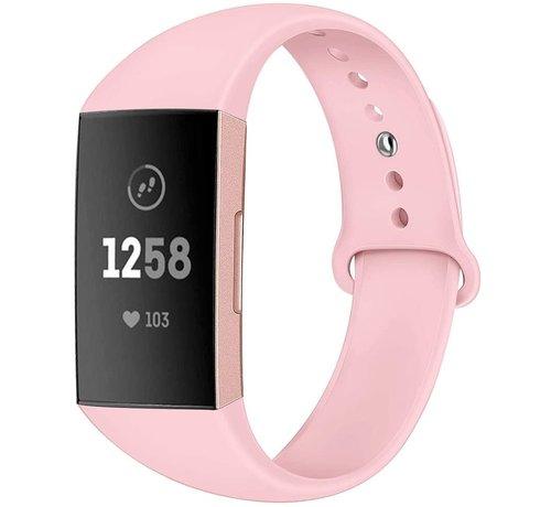 Strap-it® Strap-it® Fitbit Charge 4 sportband (roze)