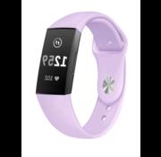 Strap-it® Fitbit Charge 4 sportband (lavendel)