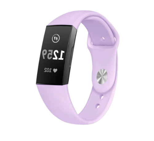 Strap-it® Strap-it® Fitbit Charge 4 sportband (lavendel)