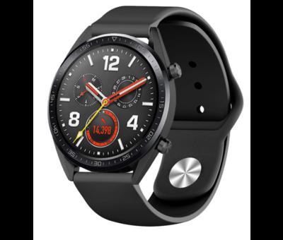 Strap-it® Strap-it® Huawei Watch GT sport band (zwart)