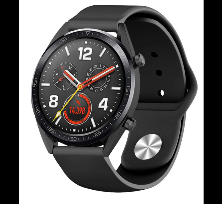 Strap-it® Huawei Watch GT sport band (zwart)