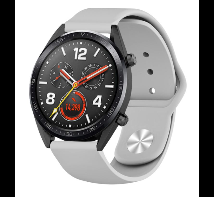 Strap-it® Huawei Watch GT sport band (grijs)