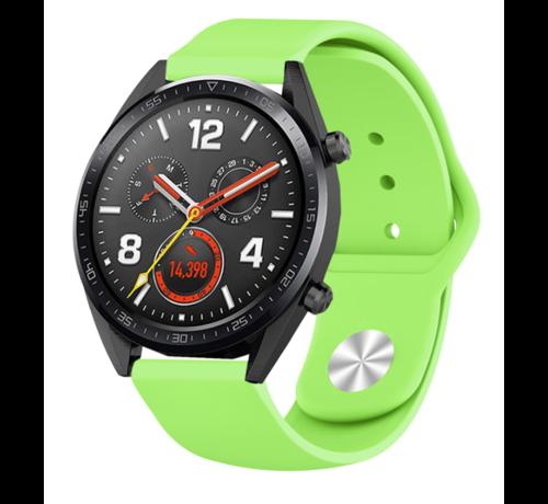 Strap-it® Strap-it® Huawei Watch GT sport band (lichtgroen)