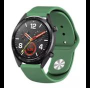 Strap-it® Huawei Watch GT sport band (legergroen)