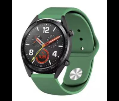 Strap-it® Strap-it® Huawei Watch GT sport band (legergroen)