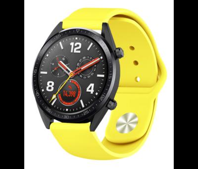 Strap-it® Strap-it® Huawei Watch GT sport band (geel)