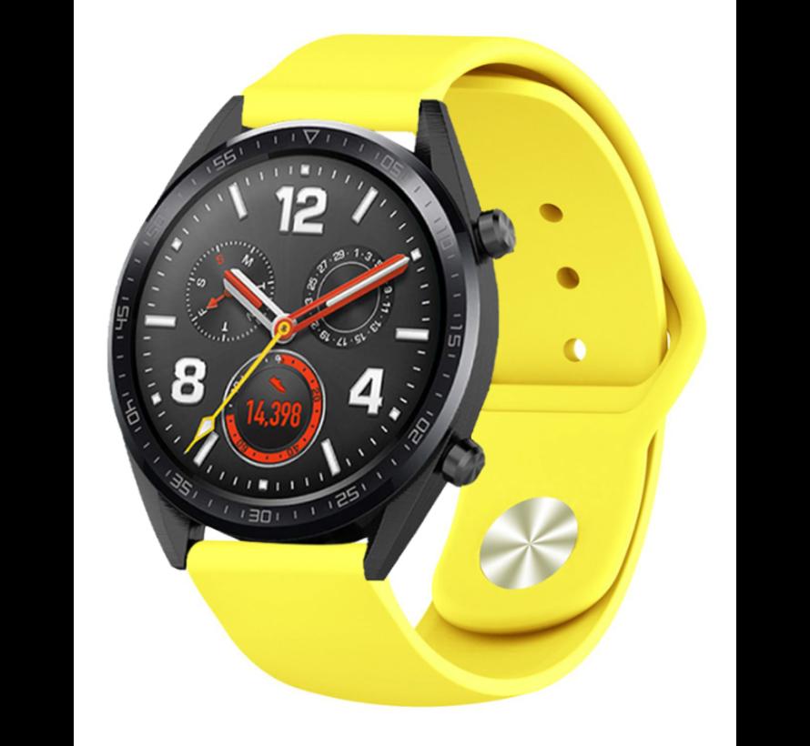 Strap-it® Huawei Watch GT sport band (geel)