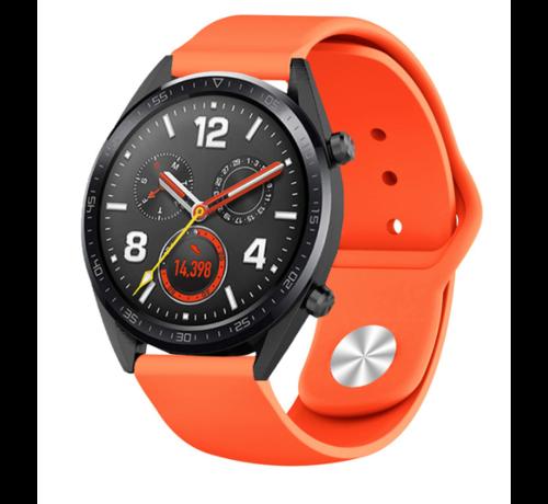 Strap-it® Strap-it® Huawei Watch GT sport band (oranje)