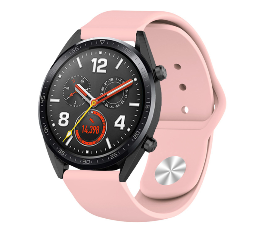 Strap-it® Huawei Watch GT sport band (roze)