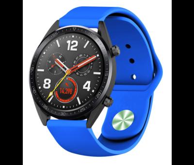 Strap-it® Strap-it® Huawei Watch GT sport band (blauw)