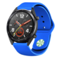 Strap-it® Huawei Watch GT sport band (blauw)