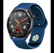 Strap-it® Huawei Watch GT sport band (donkerblauw)
